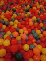 colored balls texture stock by Sakura060277
