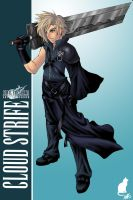 FF7AC:Cloud Strife by ShiroiNeko-sama