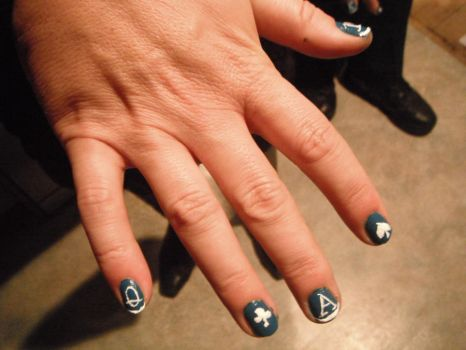 Poker nails by bjg123