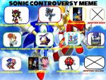 Sonic Controversy meme by BeeWinter55