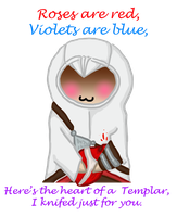 Altair Valentine by Drawing-24-7