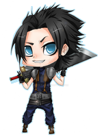 CHIBI - FFVII Zack Fair by Razon-Fan