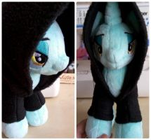Plushie Dark Lord Lyra... *Crazy Ctafter's Notes* by RufousCat