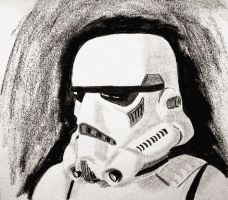 Stormtrooper en profil 2 by CpointSpoint