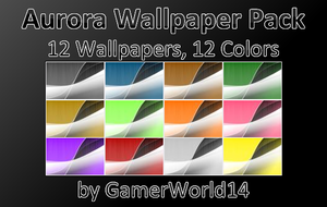 Aurora Wallpaper Pack by GamerWorld14