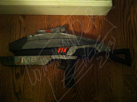 Custom M8 Avenger Assult Rifle [Mass effect] by Nuclearpsychotic