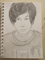 Phil Lester (A Sketch A Day 1/40) by kittybark