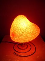 Heart Lamp STOCK by Neveryph-stock