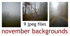 9 NOVEMBER BACKGROUNDS by bluesse