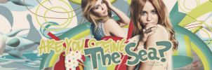 The Sea with Miley Cyrus by @EJ by Eriol-Diggory-Art