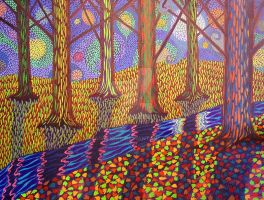 Autumn Forest by A1WEND1L