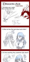 Dragon Age - Couple Meme by WinryElric