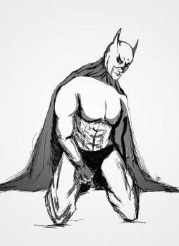 Batman_sketch_01 by kutsunyan