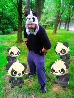 Whoa! A horde of Pancham appeared! by chefblackbeard