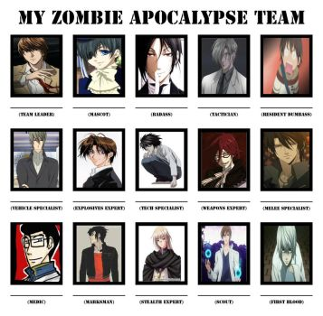 My Zombie Team by Astor-Reinhardt