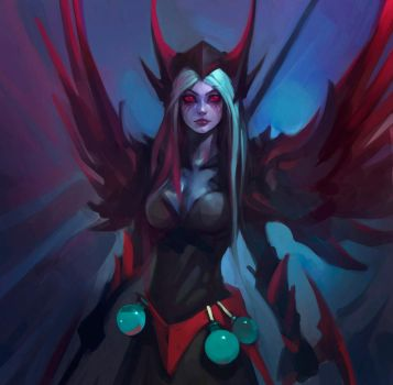 vengeful spirit speed paint by haryarti