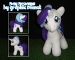 My Little Pony G1 Baby Glory Plush by GraphicPlanetDesigns