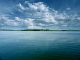 The Bay of Burgas by paskoff