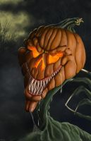 Jack o' Lantern by ChristopherCrow
