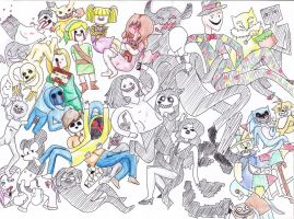 Creepypasta Time!!~(Adventure Time ver.) by mikkie12