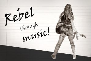 Rebel through music by Nosfist