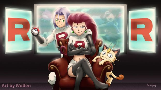 Team Rocket by Wolfen-C