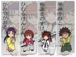 Bookmarks - Kenshin by zzzzing