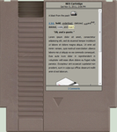 NES Cartridge by Lushbob