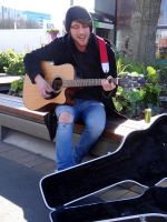 Busker #4 by Aroha-Photography