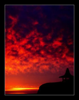 red sky by AfterDeath