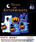 Woot Shirt - Trick or Exterminate by fablefire