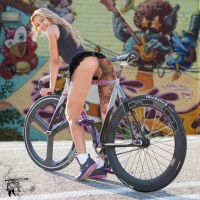 Fixie girl 2 by Dany-Art