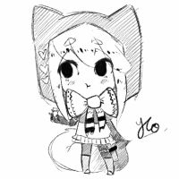 Chibi Sketch Comm 6 by Yu-Tanni