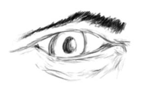 A Sketched Eye by AgtBauer24