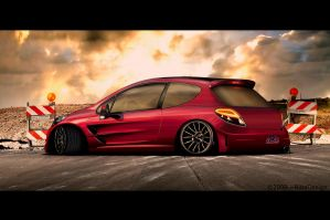 peugeot 207 by RibaDesign