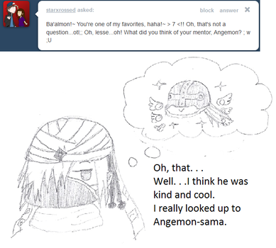 Ask Baalmon: About Angemon. . . by XAngelCharityX