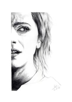 Emma Watson (Angela Gray - Regression) by crayon2papier