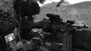 ARMA 3 - GPMG after a busy session by BillyM12345