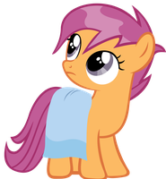Wet mane Scootaloo #2 by sofunnyguy