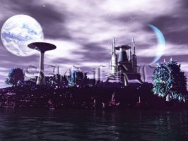 The Nasuada Planet by VisionDream
