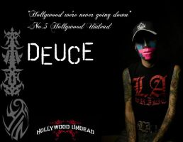 Deuce of Hollywood Undead by Theunseenreaper