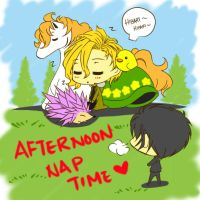 Afternoon Nap Time by joker4msy
