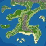 Fantasy Game Project - World Map by Dahgnear