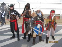 Romics 2014 - Beneath the Black Flag by VixenSkywalker