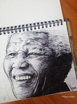 Rest in Peace Madiba by rayyzer