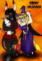 Happy Halloween by Queenofvampires666