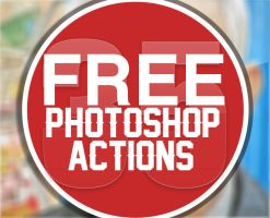 35 Best Free Download Photoshop Actions by Designslots