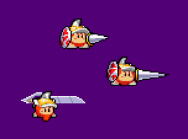 New kirby series character, Joust by BioMetalNeo