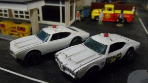 Police Cruisers by hankypanky68