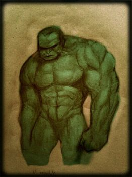 hulk by omarvillarrealmora